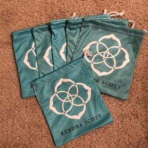 Kendra Scott Dust Bags (all for one low price)